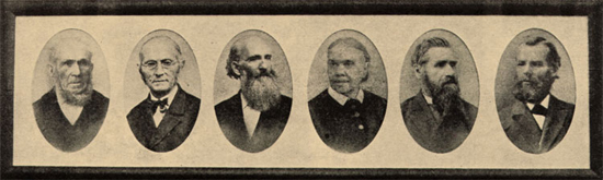 The pioneers of the Seventh-day Adventist church are John Byington, Joseph Bates, James White, Ellen White, Stephen Haskell, John Andrews, Joseph Waggoner, Uriah Smith, George Butler, John Loughborough.